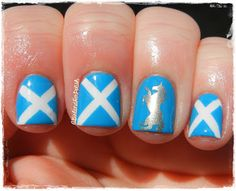 A Girl and Her Polish: The Nail Challenge Collaborative Presents: Around the World - Scotland
