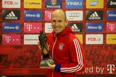 Arjen Robben became the Netherlands sportsman of the year! Well deserved!
