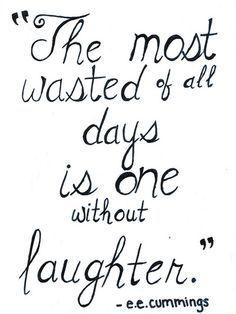 Laugh often. #iamacreativ