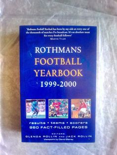 ROTHMANS!FOOTBALL  YEARBOOK!1999-2000!NEU!