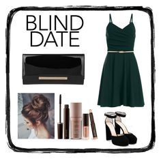 """""""Blind Date"""" by so-chic-angeles ❤ liked on Polyvore featuring Laura Mercier and Jimmy Choo"""