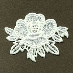 FSL Flowers 4 - 4x4 | FSL - Freestanding Lace | Machine Embroidery Designs | SWAKembroidery.com Ace Points Embroidery