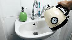 Wenn mal wieder der Abfluss in der Badewanne oder im Waschbecken verstopft ist, .