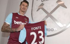 José Fonte, West Ham, Portugal