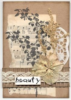 Card by Margriet using Darkroom Door Full Bloom Vol 2 Rubber Stamps and Wilderness Wordstrip.