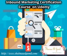 I have found a very good course in E-Marketing. And I find that was one of the best free Courses in Marketing on Udemy. Free Courses, Inbound Marketing, Certificate, Content Marketing