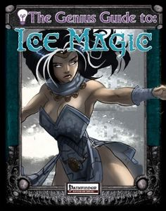 The Genius Guide to Ice Magic - Ice Magic opens with a brief introduction about why more ice/cold magic and then moves directly into the spells. Fourteen spells across all levels and something for most types of casters (bard, cleric, druid and sorcerer/wizard but mostly sorcerer/wizard) are included. As usual for such products there are a mix of attack, defense and utility spells with attack spells in the majority. It seems that there are many interesting potential uses for the spells here…