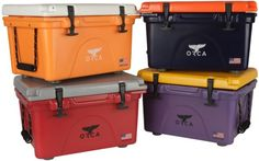 We're excited to welcome ORCA Coolers to our tailgate fam! Check them out yall - best cooler ever, AND 100 percent made in the USA