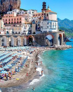 Amalfi Cost Ville d'Atrani