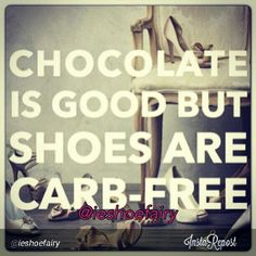 i guess every time im craving chocolate i should just buy a new pair of shoes :)