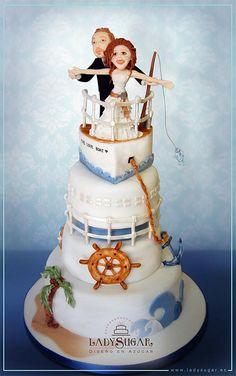 Titanic cake recipe