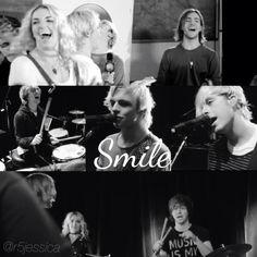 Who else saw the smile video? I've seen it like 10 times already it's amazing!!!! #R5SmileAllAroundTheWorld