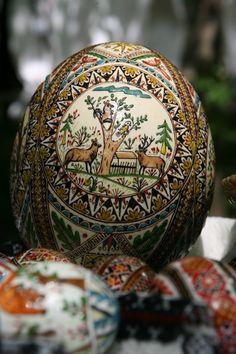 Romanian Easter Eggs