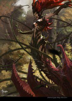 League Of Legends: Zyra