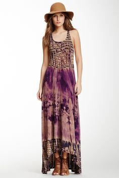 Racerback Hi-Lo Maxi Dress by Go Couture on @nordstrom_rack