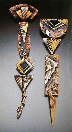 Earrings by Barbara McFadyen