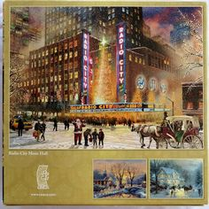 Amazon.com: Thomas Kinkade Holiday Radio City Music Hall: Toys & Games