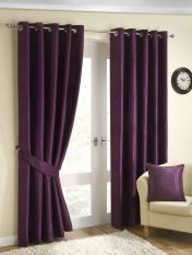 Plum Curtain
