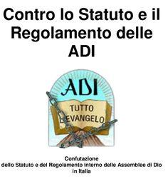 #ClippedOnIssuu from 'Contro lo Statuto e il Regolamento delle ADI' (libro)