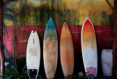 faded boards
