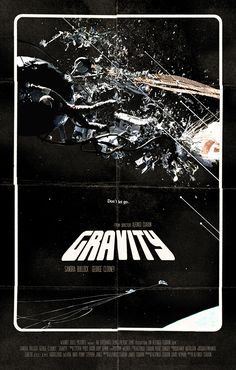 Gravity - movie poster - Romain Livio Bernardo