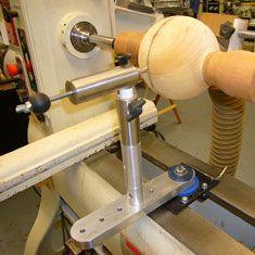 Sphere Lathe Jig Bing Images Wood Turning Wood Lathe