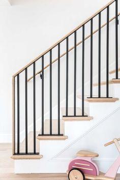 Railing Design, Staircase Design, Basement Renovations, Home Renovation, Portland Maine, Hickory House, Entry Stairs, Balcony Railing, Paris Cafe