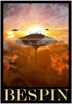 Bespin Retro Travel Poster Posters sur AllPosters.fr