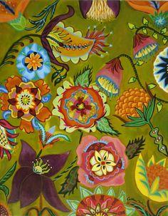flowers, color inspiration