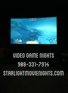 We rent outdoor inflatable movie screens. 909-331-7914 Www.StarlightMovienights.com Www.facebook.com/StarlightMovieNights