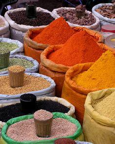 Indian Spice Photo. $26.00, via Etsy.