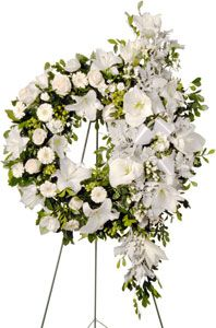 Funeral flower arrangements.  Heritage Funeral Homes, Crematory and Memorial Parks, Arizona #funeral #flowers