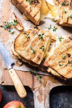 Honey Apple Cheddar Bacon Panini