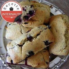 Le petit cake au citron, aux myrtilles et au pavot sans beurre, facile : recette sur Cuisine Actuelle
