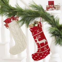 Santa will love tucking toys into a soft and sweet sweater stocking. Get the free pattern and instructions in the download here: http://www.bhg.com/christmas/crafts/christmas-sweater-crafts/?socsrc=bhgpin111214woolsweaterstocking&page=4