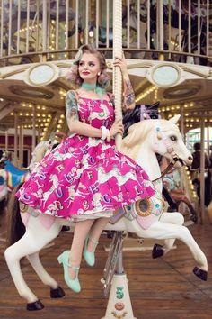 Carousel dress | pinupclothing | swing dress