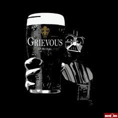 Star Wars  Pint of Grievous  Unisex Tee by DevoteesDesign on Etsy