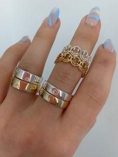 Dainty Jewelry, Simple Jewelry, Cute Jewelry, Luxury Jewelry, Silver Jewelry, Vintage Jewelry, Jewelry Accessories, Hand Jewelry, Cute Acrylic Nail Designs