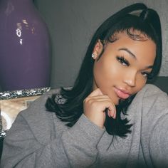 hairstyles baddie short ~ hairstyles baddie + hairstyles baddie for school + hairstyles baddie straight + hairstyles baddie curls + hairstyles baddie latina + hairstyles baddie short + hairstyles baddie braids Baddie Hairstyles, Black Girls Hairstyles, Summer Hairstyles, Weave Hairstyles, Pretty Hairstyles, Hairstyle Ideas, Latina Hairstyles, Black Girl Ponytails, Wedding Hairstyles