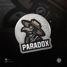 Logo Free, Game Logo Design, Esports Logo, Cartoon Logo, Shield Logo, Typography Logo, Paradox, Cool Logo, Logo Design Inspiration
