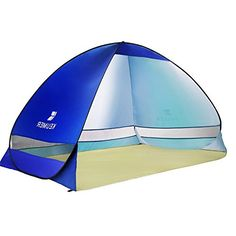 Ylovetoys Outdoor Automatic Pop up Instant Beach Tent Camping Fishing Hiking Picnicing Anti UV Shelter (Dark Blue)