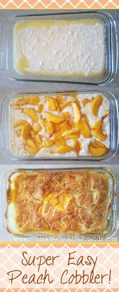 Peach Cobbler Recipe Wonderful Peach Cobbler Recipe, simple ingredients & preparation, but incredible taste!Wonderful Peach Cobbler Recipe, simple ingredients & preparation, but incredible taste! Dessert Simple, Easy Peach Dessert, Super Easy Peach Cobbler Recipe, Simple Peach Cobbler, Peach Cobbler Recipes, Pillsbury Peach Cobbler Recipe, Easy Peach Cobbler Recipe With Cake Mix, Peach Recipes Easy, Georgia Peach Cobbler Recipe