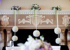 Wedding decor by Floral Fields of Burbank, CA. Wedding Decorations, Chandelier, Ceiling Lights, Wreaths, Fields, Floral, Dairy, Home Decor, Candelabra