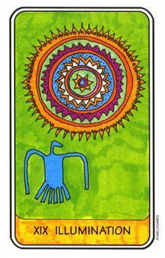 the Sun Rock art Tarot