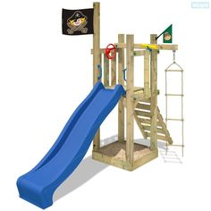 Wooden climbing frame Wickey Castle Minodor. Huge range of outdoor toys in our shop! Enchant your garden into a magical world