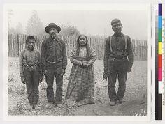 Athabascan family - circa 1903