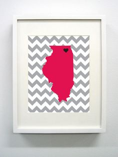 Northern Illinois University Giclée Print  8x10  by PaintedPost, $14.00