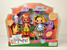 Lalaloopsy Mini Alice in Lalaloopsyland & Wacky Hatter