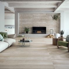Refin Overlay Juta floor tile with Jungle Juta wall tile