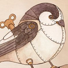 steampunk animal drawings - Google Search